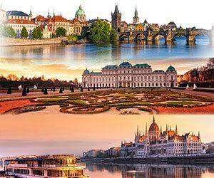 BUDAPEST » PRAGUE » VIENNA