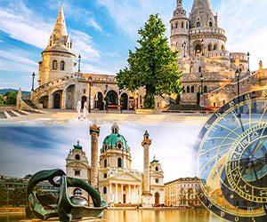 BUDAPEST – VIENNA – PRAGUE